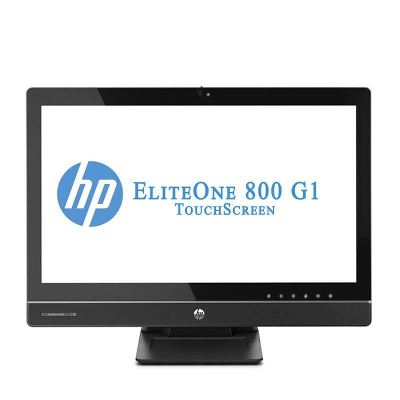 All-in-One Touchscreen SH HP EliteOne 800 G1, Quad Core i5-4590S, 23