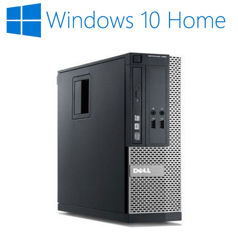 Calculatoare Refurbished Dell Optiplex 390 SFF, Quad Core i5-2400, Win 10 Home