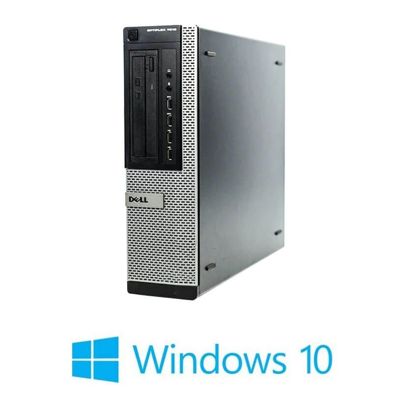 Calculatoare Refurbished Dell OptiPlex 7010 DT, i5-3470, 8GB, SSD, Win 10 Home