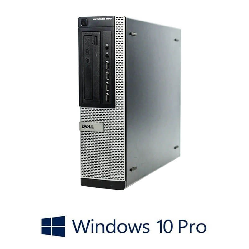 Calculatoare Refurbished Dell OptiPlex 7010 DT, i5-3470, 8GB, SSD, Win 10 Pro