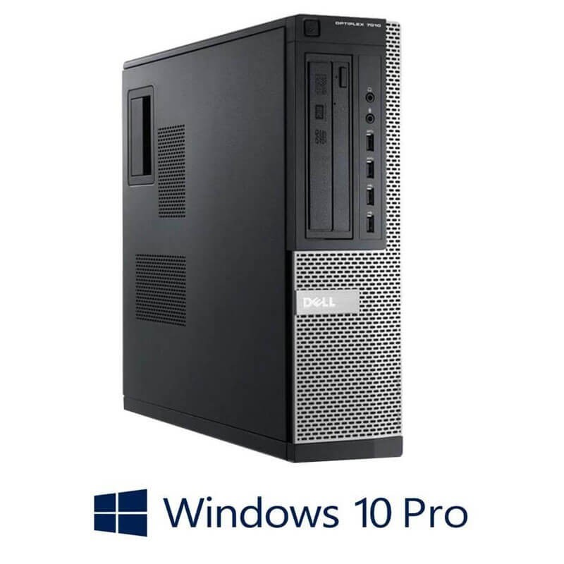 Calculatoare Refurbished Dell OptiPlex 7010 DT, Quad Core i7-3770s, Win 10 Pro
