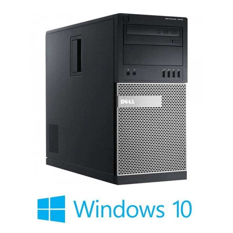Calculatoare Refurbished Dell OptiPlex 7010 MT, i5-3570, 8GB RAM, Win 10 Home