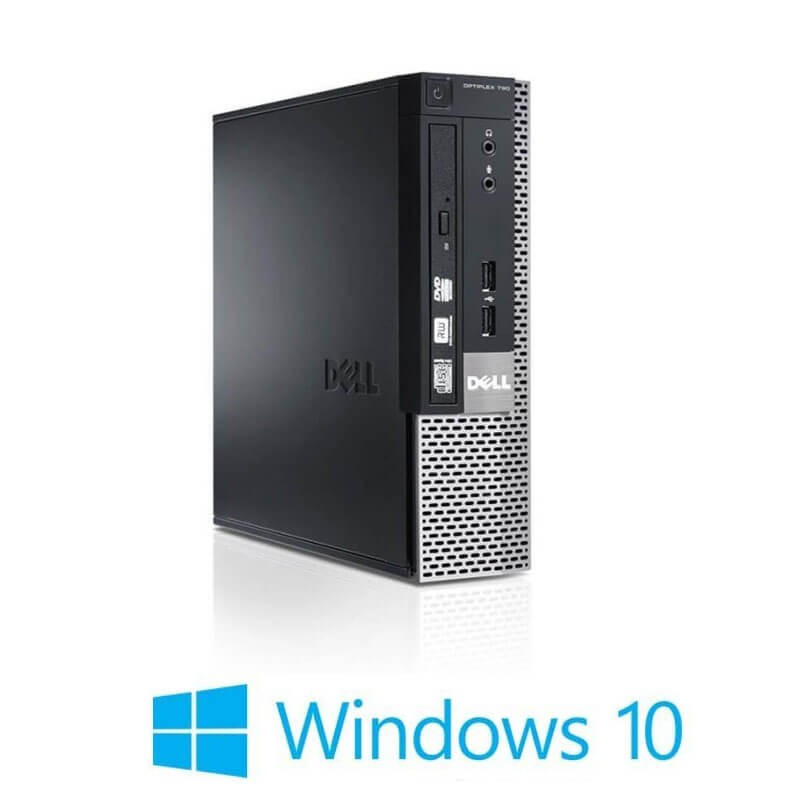 Calculatoare Refurbished Dell OptiPlex 790 USFF, Quad Core i5-2500, Win 10 Home