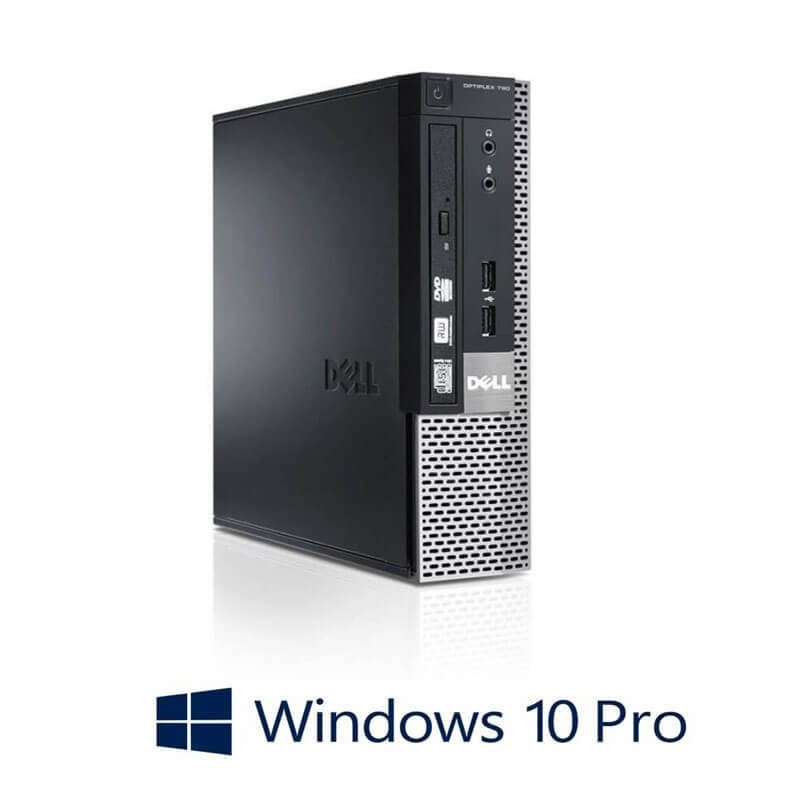 Calculatoare Refurbished Dell OptiPlex 790 USFF, Quad Core i5-2500, Win 10 Pro