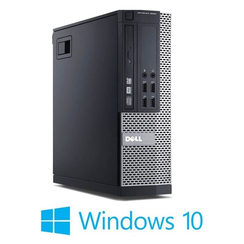 Calculatoare Refurbished Dell OptiPlex 9020 SFF, Quad Core i5-4570, Win 10 Home