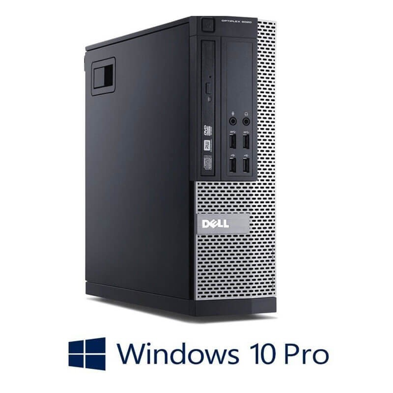 Calculatoare Refurbished Dell OptiPlex 9020 SFF, Quad Core i5-4570, Win 10 Pro
