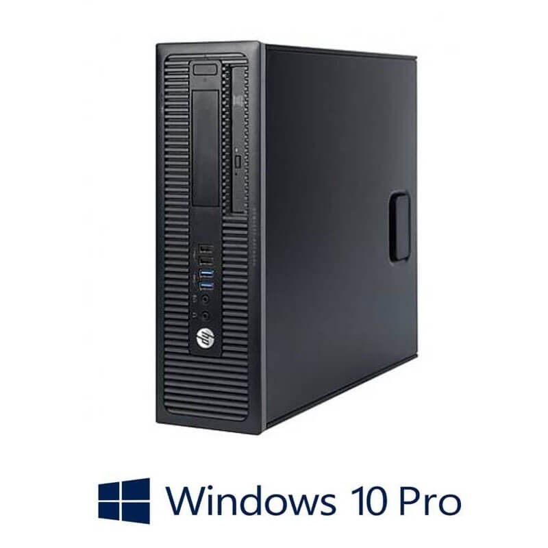 Calculatoare Refurbished HP Prodesk 600 G1 SFF, i5-4570s, 8GB, SSD, Win 10 Pro