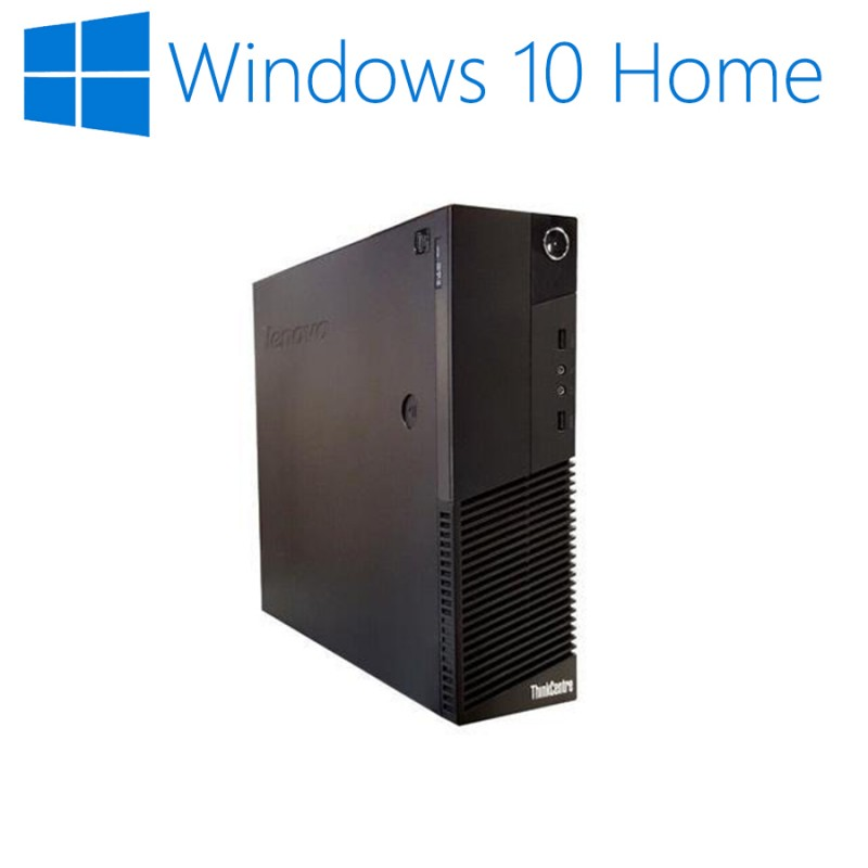 Calculatoare Refurbished ThinkCentre M93p SFF, Intel Quad Core i5-4570, Win 10 Home