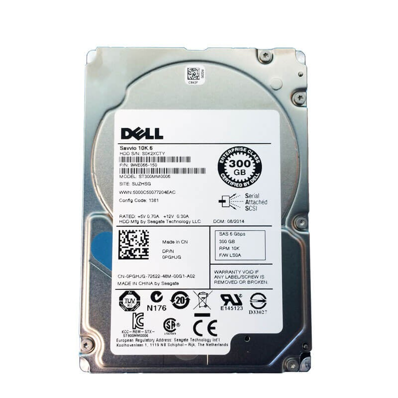 Hard Disk Dell 9WE066-150 300GB SAS 6Gbps 2.5 inch, 64 Mb Cache