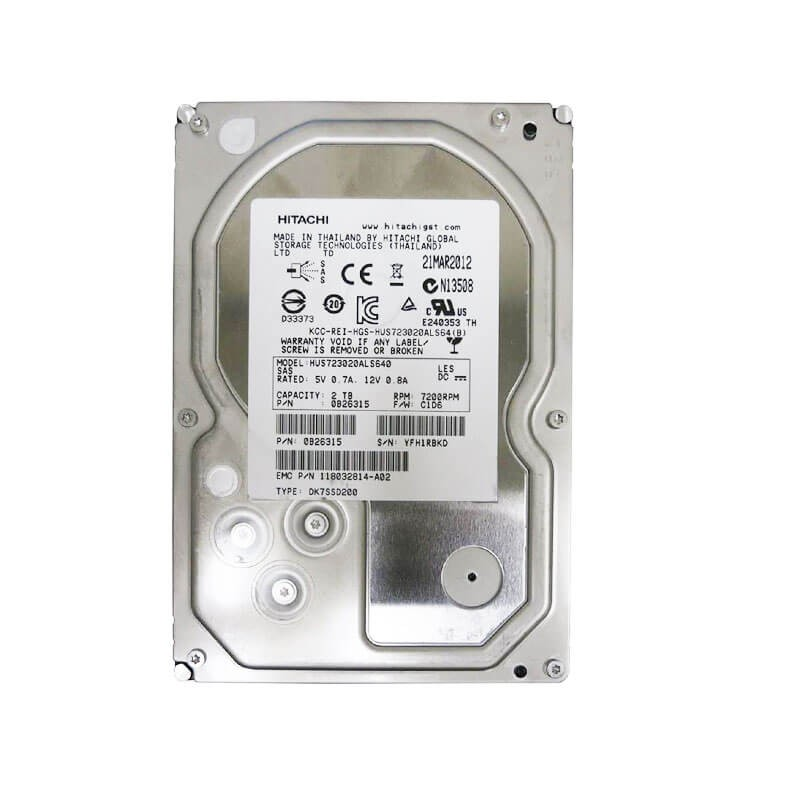 Hard Disk Refurbished HUS723020ALS641 2TB SAS 6.0Gbps 3.5 inch, 64Mb Cache