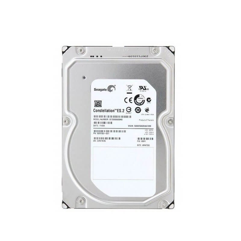 Hard Disk Refurbished Seagate Constellation ES.2, 3TB SATA3 6Gb/s, 64Mb Cache