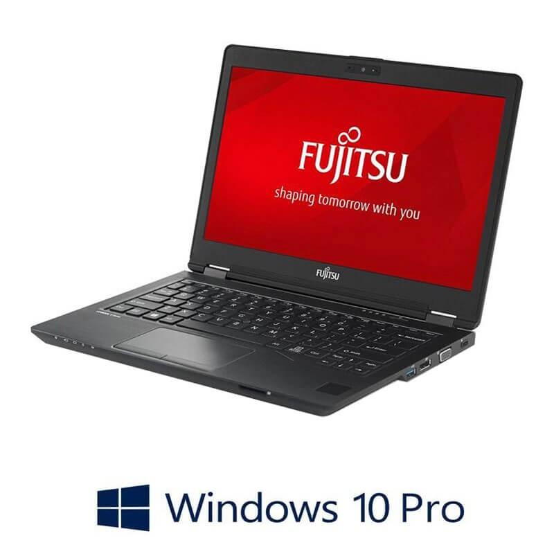 Laptop Refurbished Fujitsu LIFEBOOK U727, i7-7500U, TouchScreen, FHD, Win 10 Pro