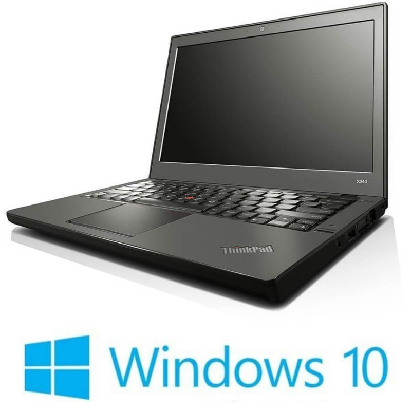 Laptop Refurbished Lenovo ThinkPad X230, Intel Core i5-3230M, Win 10 Home