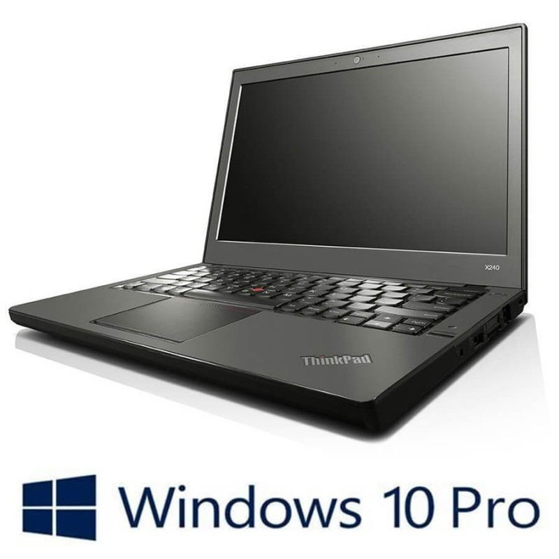 Laptop Refurbished Lenovo ThinkPad X230, Intel Core i5-3230M, Win 10 Pro