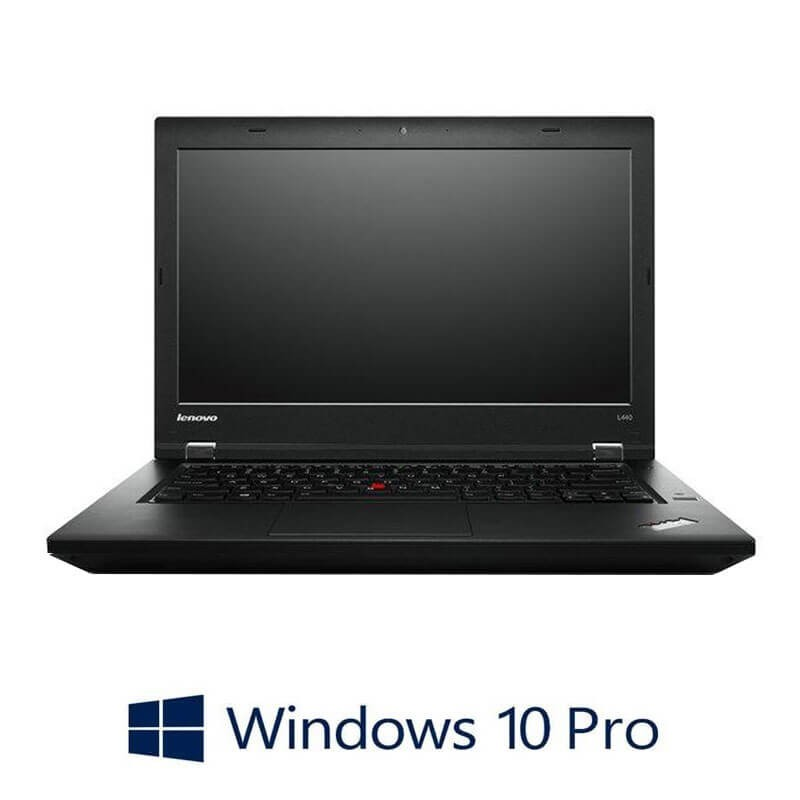 Laptopuri Refurbished Lenovo ThinkPad L440, Intel 3550M, Webcam, Win 10 Pro