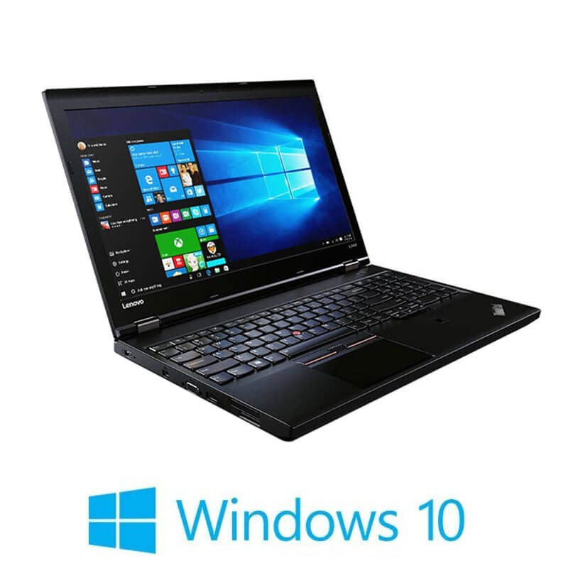 Laptopuri Refurbished Lenovo ThinkPad L560, i5-6300U, Full HD, Webcam, Win 10 Home