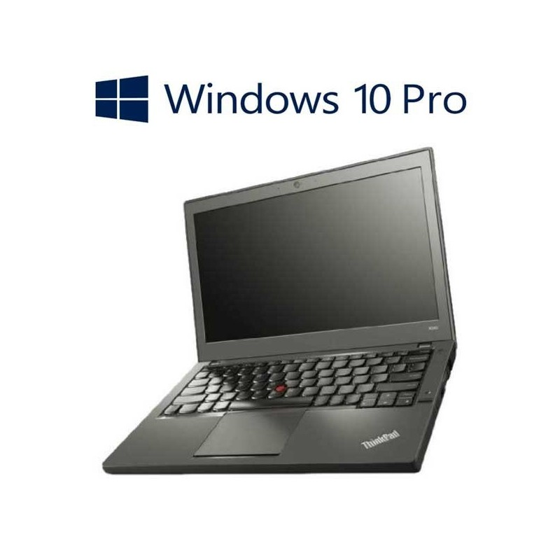 Laptopuri refurbished Lenovo ThinkPad X240, i5-4200U, Win 10 Pro