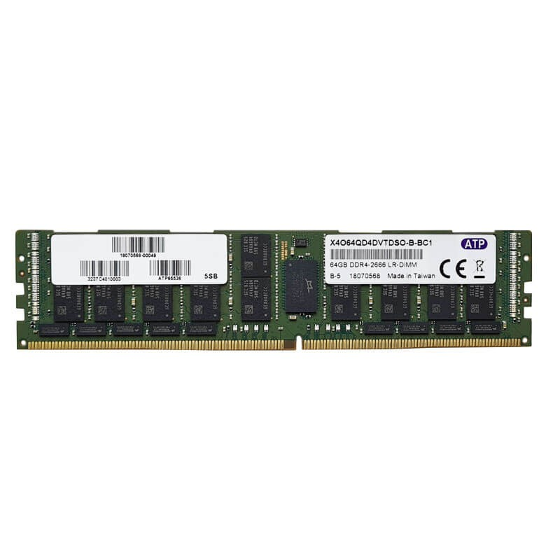 Memorii Server 64GB PC4-2666V-LR DDR4-21333LR, X4O64QD4DVTDSO-B-BC1
