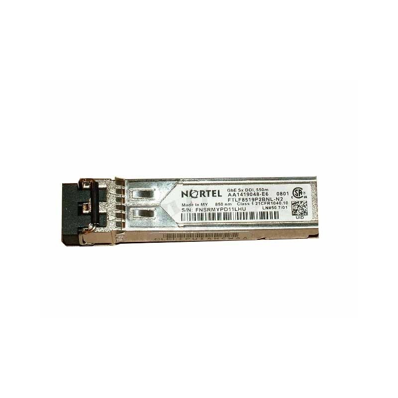Modul Nortel 1Gbps Fibre Channel 850nm SFP+ Transceiver AA1419048-E6