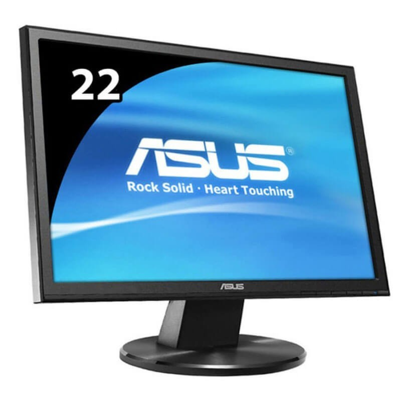 Monitoare LCD Refurbished ASUS VW227D, 21.5 inch WideScreen, Full HD