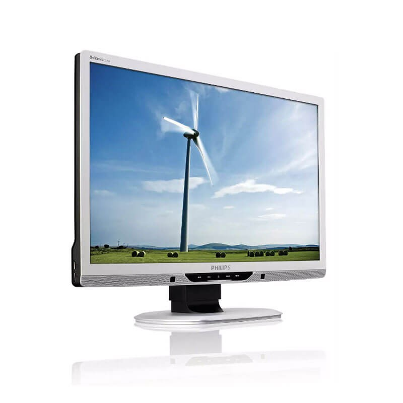 Monitoare LCD Refurbished Philips Brilliance 225B2CS, 22 inch WideScreen