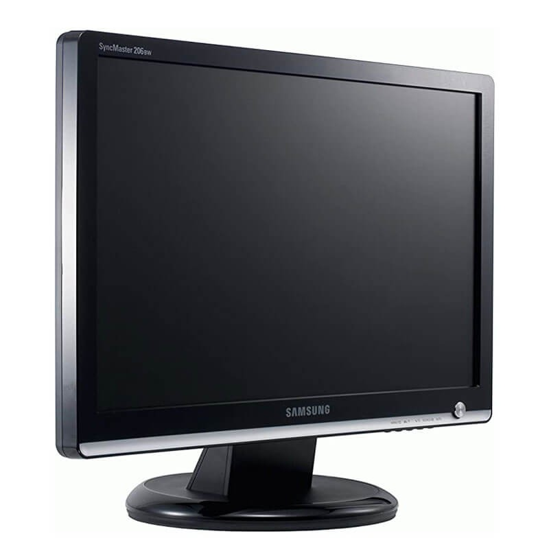 Monitoare LCD Refurbished Samsung SyncMaster 206BW, 20 inch WideScreen