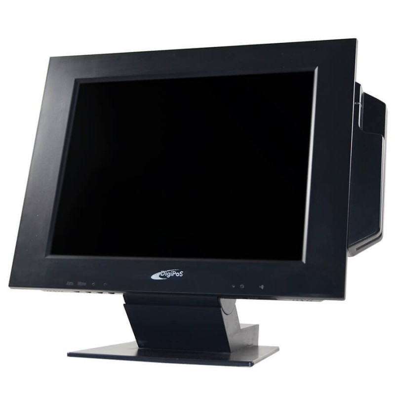 Monitoare touchscreen second hand DigiPos 714A, Grad B