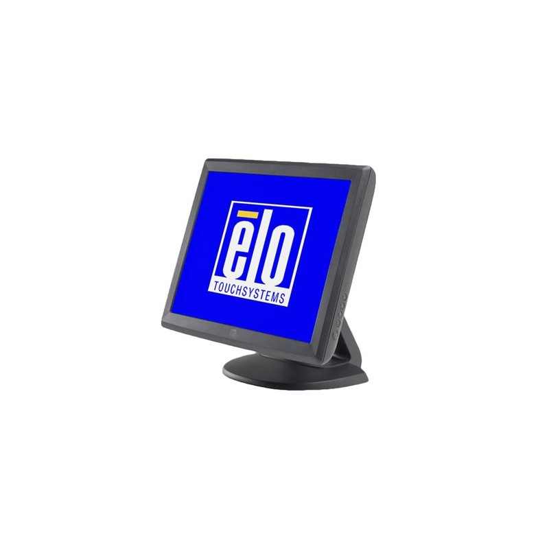 Monitor Refurbished Touchscreen USB si Serial Elo 1515L, Negru
