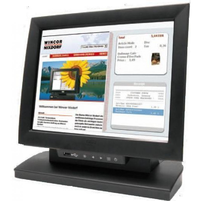 Monitor Touchscreen Second Hand Wincor Nixdorf BA83, 15 inch