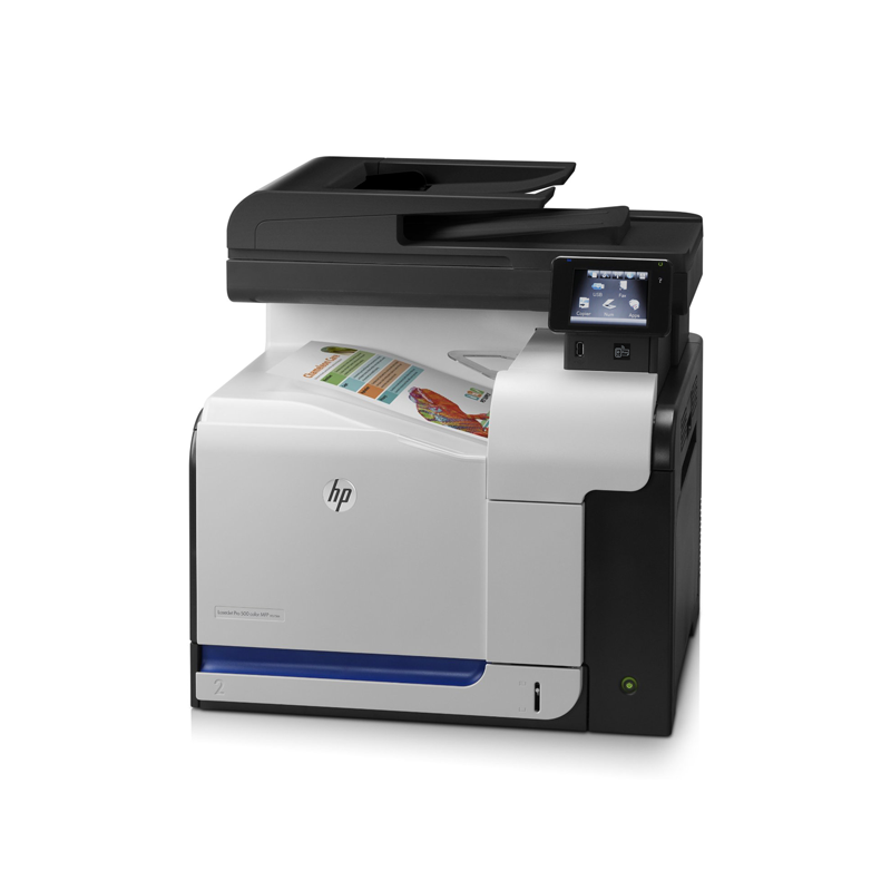 Multifunctionale Refurbished Color HP LaserJet Pro 500 M570dn, Tonere Full