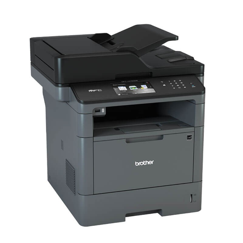 Multifunctionale Refurbished Laser Monocrom Brother MFC-L5750DW, Wireless, Toner NOU Full