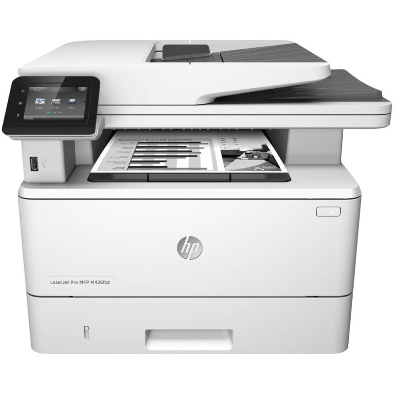Multifunctionale Second Hand HP LaserJet Pro MFP M426fdn, Toner Full
