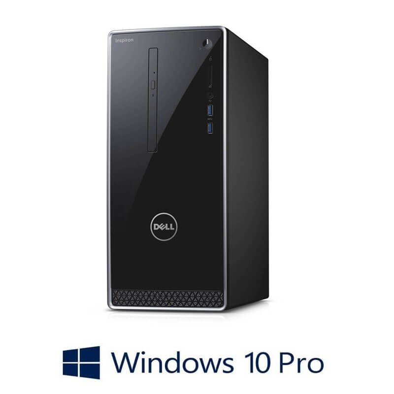 PC Refurbished Dell Inspiron 3650, i7-6700, 16GB, SSD, Quadro K2000, Win 10 Pro