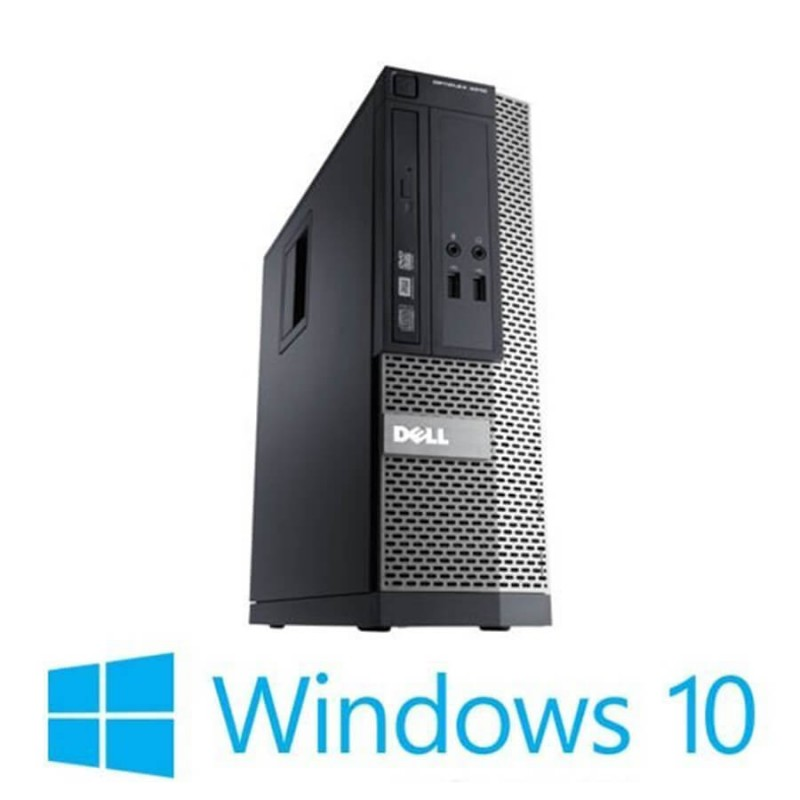 PC Refurbished Dell OptiPlex 3020 SFF, Intel Core i5-4590, 1TB HDD, 8GB RAM, Win 10 Home