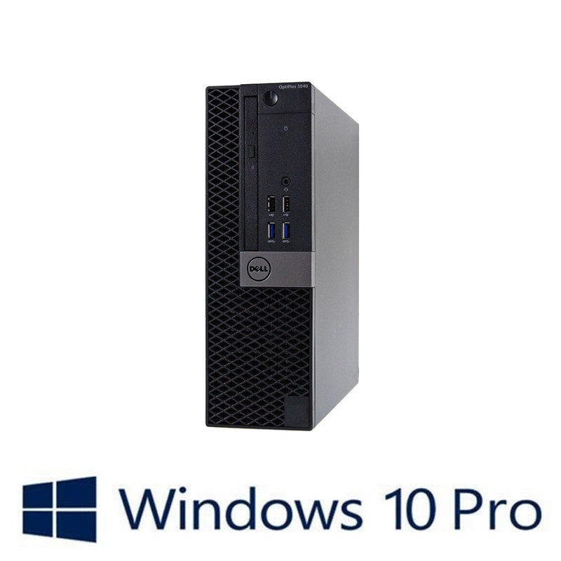 PC Refurbished Dell OptiPlex 3040 SFF, i5-6400, Win 10 Pro