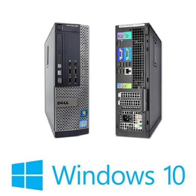 PC Refurbished Dell Optiplex 990 SFF, i7-2600, 8GB, 120GB SSD, Win 10 Home