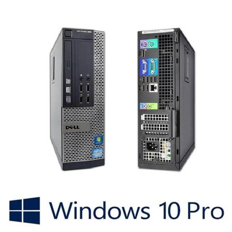 PC Refurbished Dell Optiplex 990 SFF, i7-2600, 8GB, 120GB SSD, Win 10 Pro