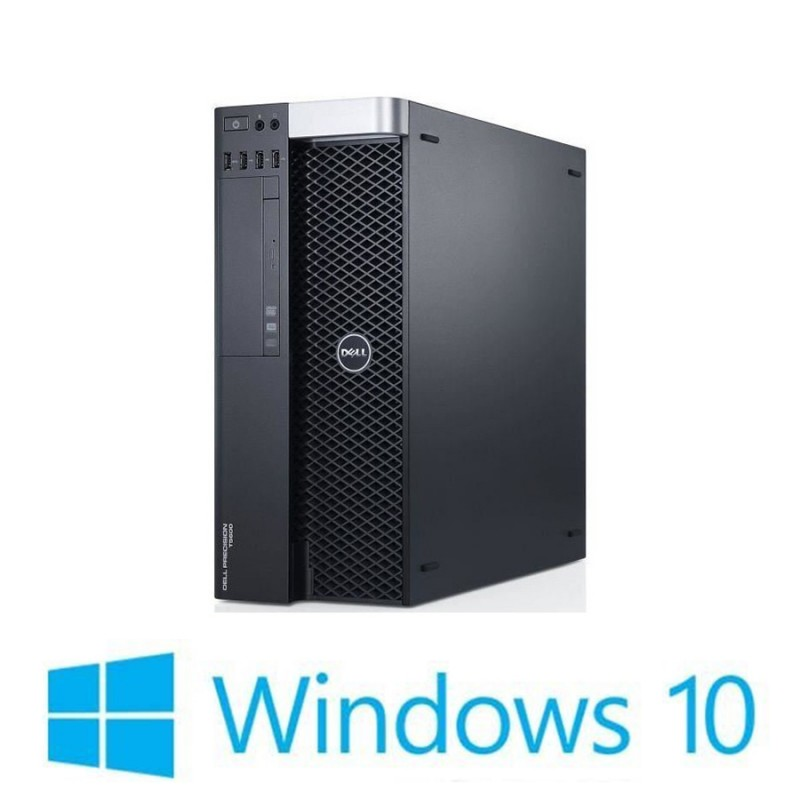 PC Refurbished Dell Precision T5600, 2 x E5-2620, Quadro K2000, Win 10 Home