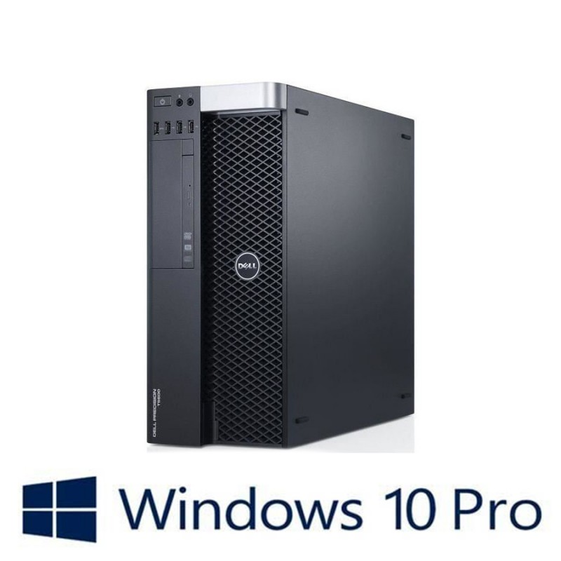 PC Refurbished Dell Precision T5600, 2 x E5-2620, Quadro K2000, Win 10 Pro