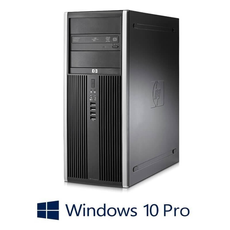 PC Refurbished Gaming HP 8200 MT, i7-2600, 8GB, SSD, GeForce GT630, Win 10 Pro