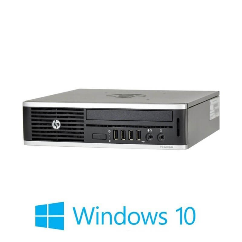 PC Refurbished HP Elite 8300 USDT, i5-3470s, 6GB DDR3, 500GB HDD, Win 10 Home