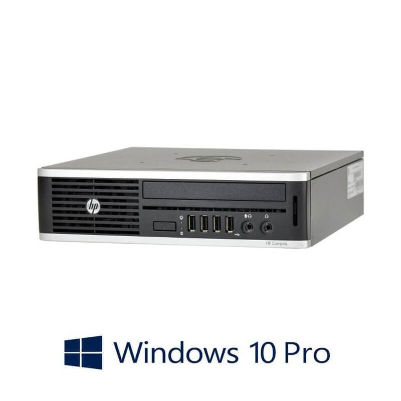PC Refurbished HP Elite 8300 USDT, i5-3470s, 6GB DDR3, 500GB HDD, Win 10 Pro
