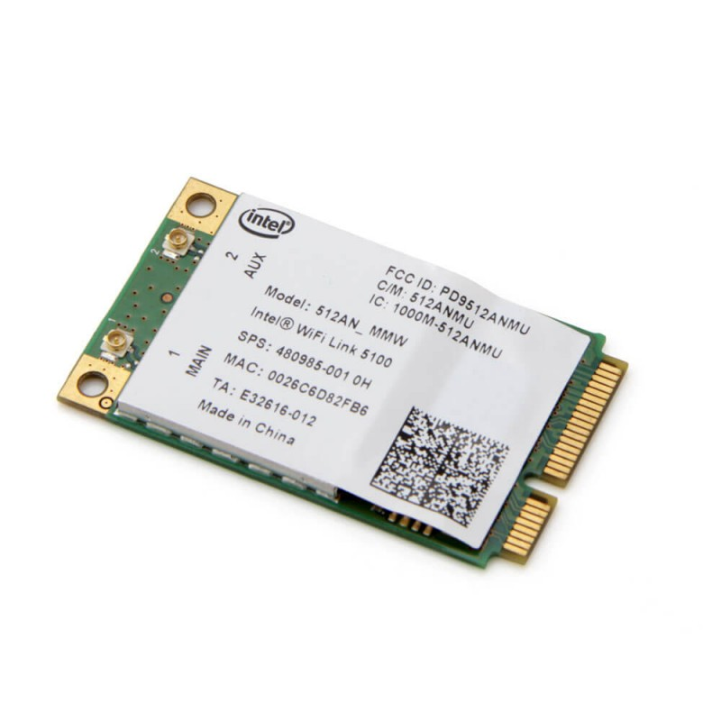Placa Retea Wireless Refurbished lntel WiFi Link 5100 PCIe Mini 512AN_MMW