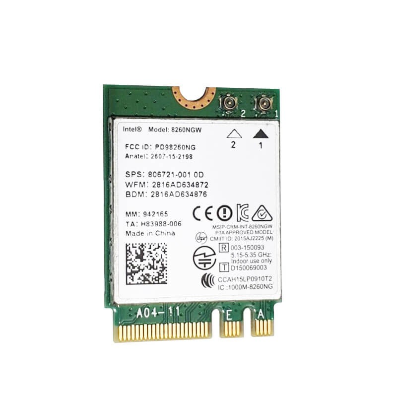Placi de Retea Refurbished Intel Dual Band Wireless-AC 8260