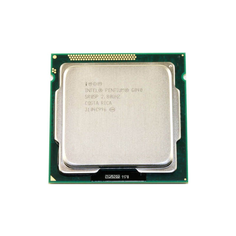 Procesor Refurbished Intel Pentium Dual Core G840, 2.80GHz, 3Mb Cache