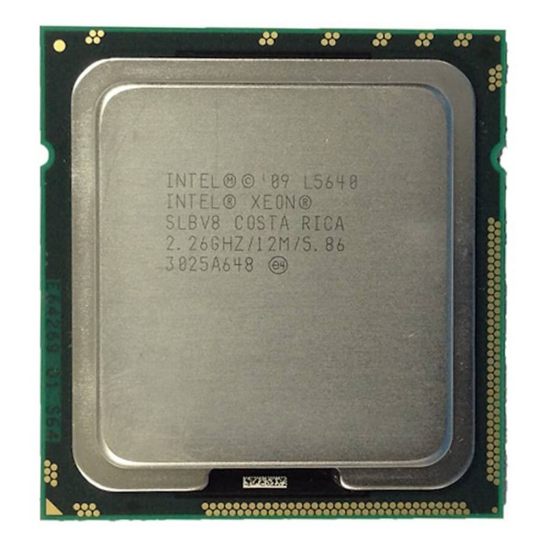 Procesor second hand Intel Xeon L5640 , 12M Cache, 2.26 GHz, 1333 MHz FSB