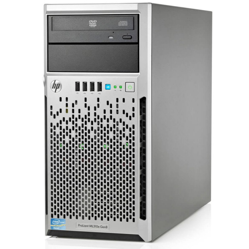Server Refurbished HP ML310e Gen8 V2, Smart Array P222 - configureaza pentru comanda