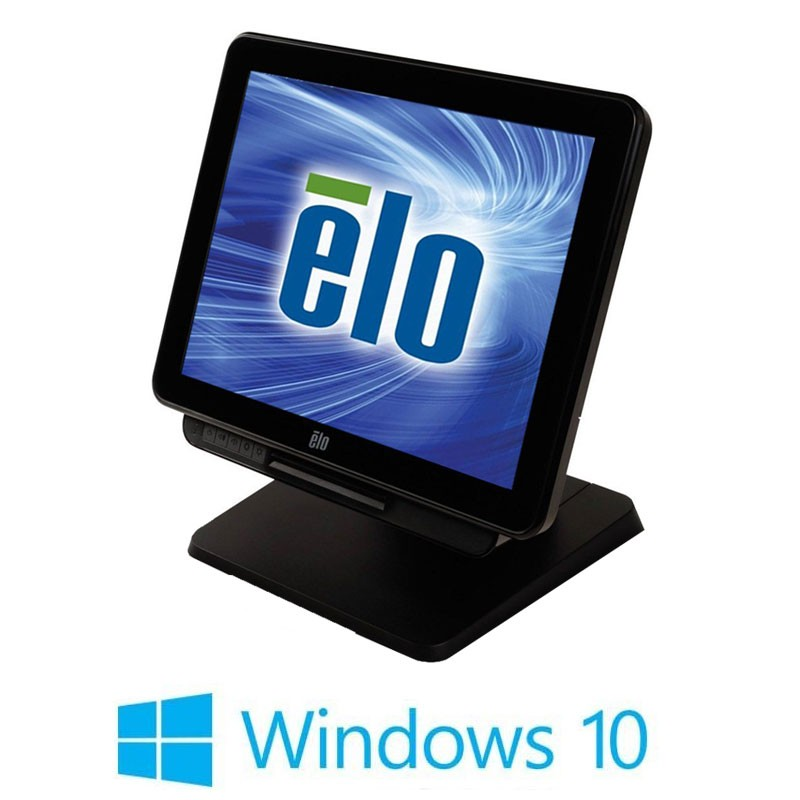 Sistem POS Touchscreen Refurbished ELO Touch 17X3, Intel i3-4350T, Win 10 Home