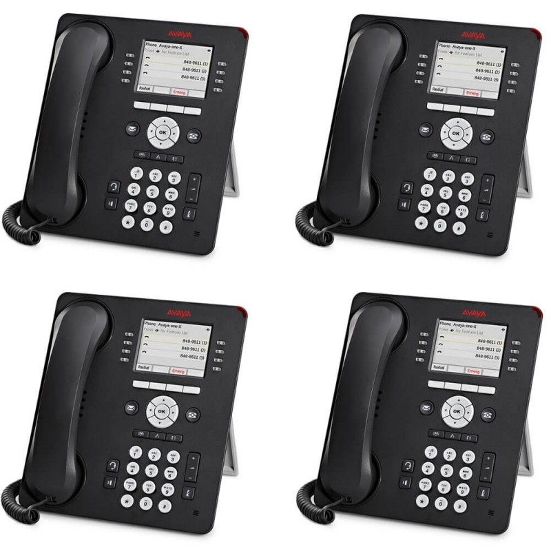 Telefoane IP Avaya 9600 Series 8-line, 9611G, Display color