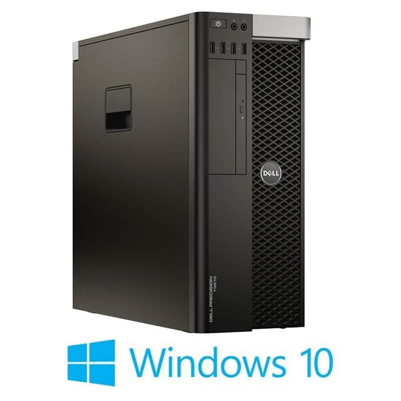 Workstation Refurbished Dell Precision T3610, E5-2640, Quadro K2200, Win 10 Home